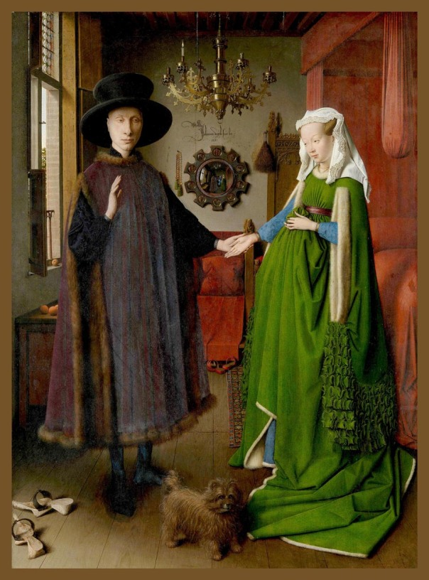 466 1 Jan van Eyck-Matrimonio Arnolfini-1434-Nat Gallery,Londres 1